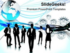 Business Person People PowerPoint Backgrounds And Templates 1210