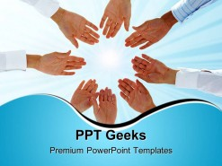 Business Team Teamwork PowerPoint Templates And PowerPoint Backgrounds 0411
