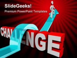 Challenge Business PowerPoint Template 1110