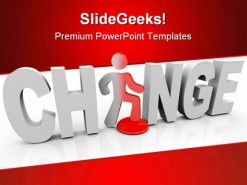 Change People PowerPoint Template 1010