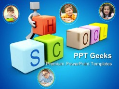 Children School Education PowerPoint Templates And PowerPoint Backgrounds 0411