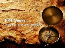 Compass Geographical PowerPoint Templates And PowerPoint Backgrounds 0411