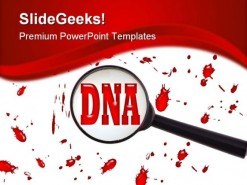 Dna Cells Medical PowerPoint Template 1110