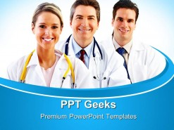Doctors Medical PowerPoint Templates And PowerPoint Backgrounds 0411