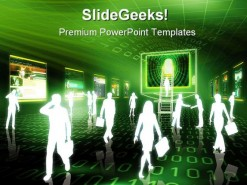 Ebusiness People PowerPoint Backgrounds And Templates 1210