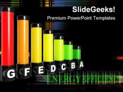 Energy Rating Environment PowerPoint Backgrounds And Templates 1210