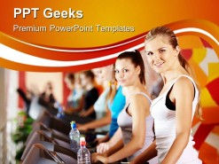 Exercise Health PowerPoint Templates And PowerPoint Backgrounds 0411