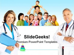 Family Doctor Science PowerPoint Template 0810