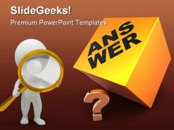Faq Technology PowerPoint Background And Template 1210