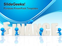 Finance People PowerPoint Background And Template 1210