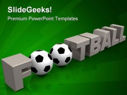 Football Sports PowerPoint Backgrounds And Templates 1210