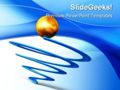 Globe Business PowerPoint Background And Template 1210