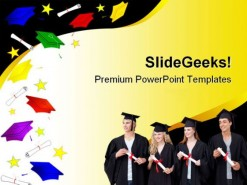 Graduation Abstract Law PowerPoint Backgrounds And Templates 1210