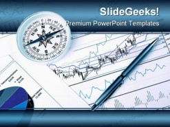 Graph And Chart Business PowerPoint Template 1110