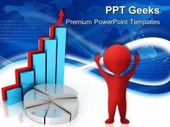 Graph Growth Business PowerPoint Templates And PowerPoint Backgrounds 0411