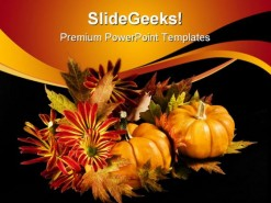 Halloween Autumn Festival PowerPoint Template 1010