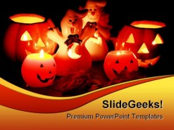 Halloween Nature PowerPoint Template 1010