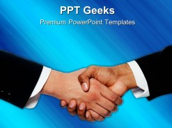 Handshake01 Business PowerPoint Templates And PowerPoint Backgrounds 0411