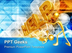 Help People Business PowerPoint Templates And PowerPoint Backgrounds 0411