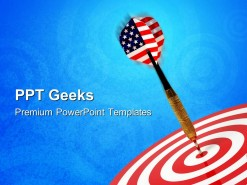 Hit Target Business PowerPoint Templates And PowerPoint Backgrounds 0411