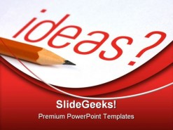 Ideas01 Business PowerPoint Template 0610