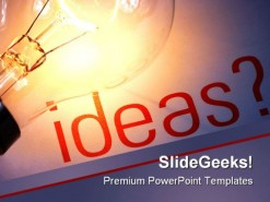 Ideas Business PowerPoint Template 0610
