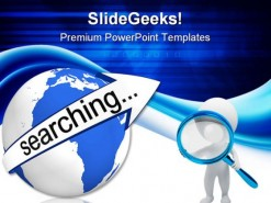 Internet Searching People PowerPoint Backgrounds And Templates 1210