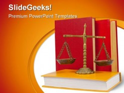 Justice Law Government PowerPoint Backgrounds And Templates 1210