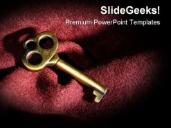 Key Security PowerPoint Backgrounds And Templates 1210