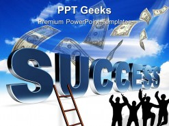 Ladder To Success Business PowerPoint Templates And PowerPoint Backgrounds 0411