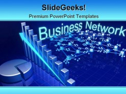 Network Business PowerPoint Template 0810
