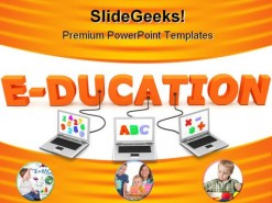 Online Concept Education PowerPoint Backgrounds And Templates 1210