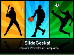 Players Sports PowerPoint Backgrounds And Templates 1210