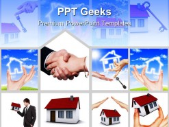 Real Estate Business PowerPoint Templates And PowerPoint Backgrounds 0411