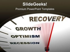 Recovery Future PowerPoint Template 0610