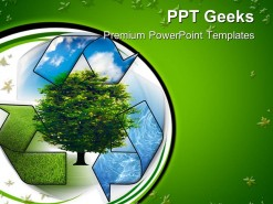 Recycle And Clean Environment PowerPoint Templates And PowerPoint Backgrounds 0411