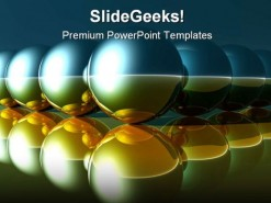 Spheres Symbol PowerPoint Template 0910