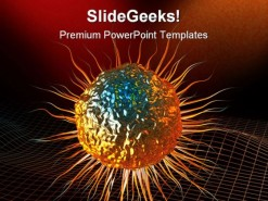 Stem Cell Science PowerPoint Template 0610