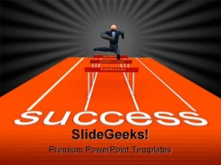 Success Business PowerPoint Template 0610