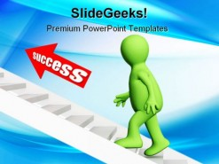 Success Business PowerPoint Template 0910