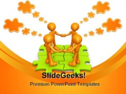 Team Thinking Teamwork PowerPoint Backgrounds And Templates 1210