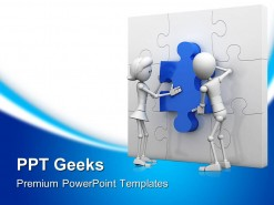 Teamwork03 Business PowerPoint Templates And PowerPoint Backgrounds 0411