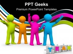The Right Team Business PowerPoint Templates And PowerPoint Backgrounds 0411