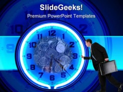 Time Money Future PowerPoint Template 0510