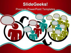 Viral Marketing People PowerPoint Backgrounds And Templates 1210
