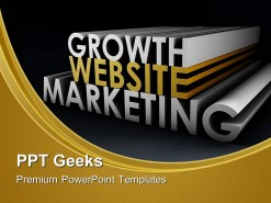 Website Marketing Business PowerPoint Templates And PowerPoint Backgrounds 0411