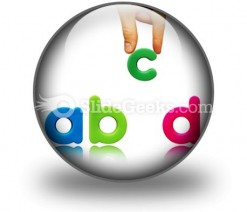 Abcd PowerPoint Icon C