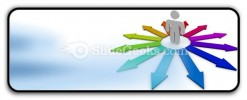 Arrows Of Opportunity PowerPoint Icon R