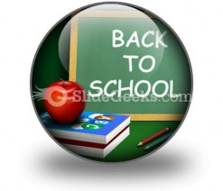 Back To School02 PowerPoint Icon C
