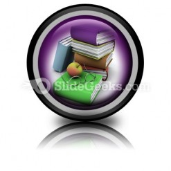 Back To School PowerPoint Icon Cc